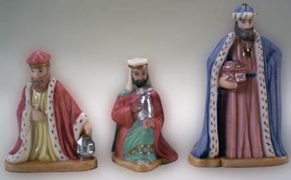 3 Könige, Porzellan, Klassisch